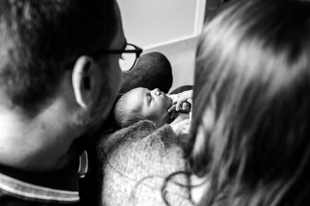 Séance photo naissance à la maternité de la ciotat